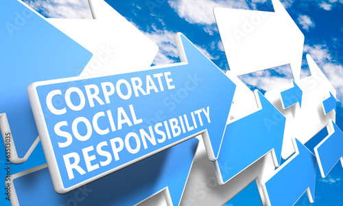 canvas print picture Corporate Social Responsibility