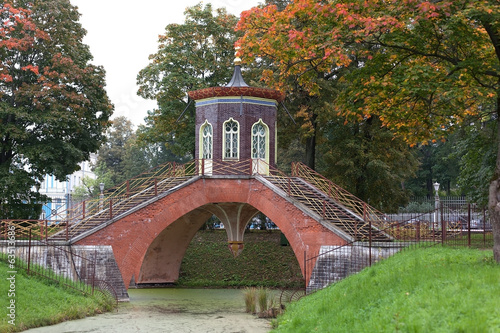 Cross the bridge. Tsarskoye Selo.
