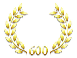 Lauriers anniversaire 600