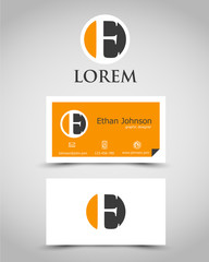 modern business card E