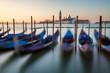 Grand Canal Embankment and San Giorgio Maggiore Church at Dawn,