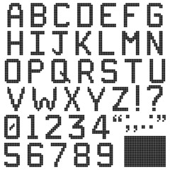 Square Pixel Font