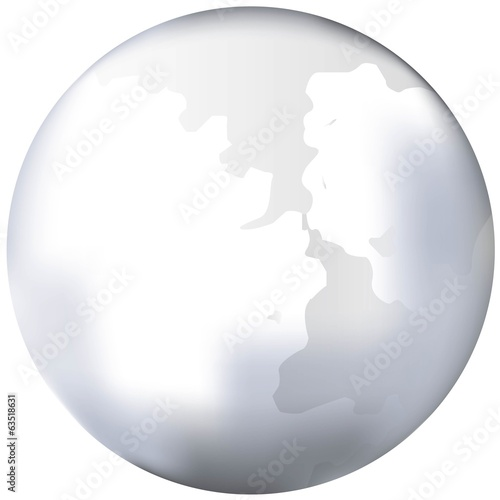 white world globe