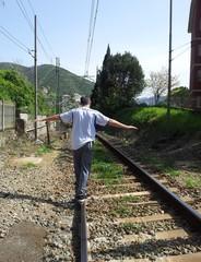 Camminando sui binari