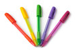 multi-colored ball pens