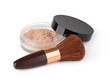 Makeup Powder and Brush