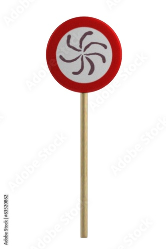 realistic 3d render of lollipop