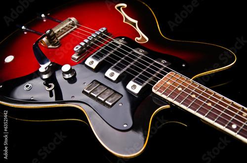 Close up of music guitar - 63521442