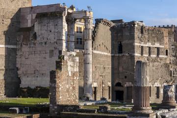 Temple of Trajan, Rome, Italy
