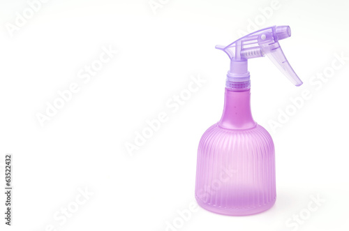 Isolated spray bottle