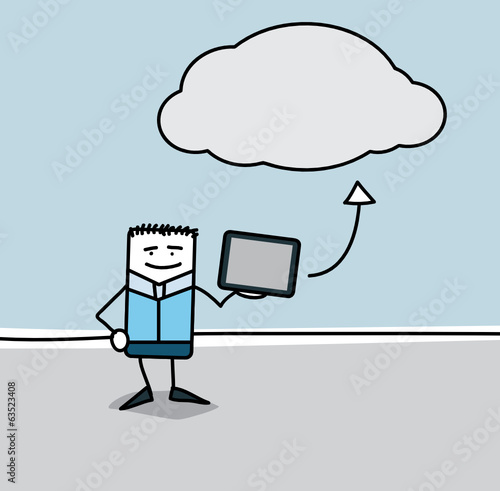 La tablette et le cloud
