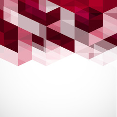 Modern eometrical abstract template, Vector illustration