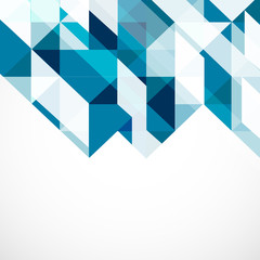 Modern geometrical abstract template, Vector illustration