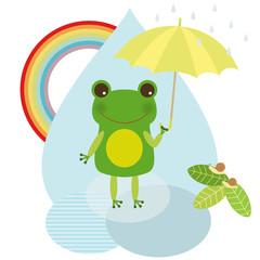 Rain & Rainbow