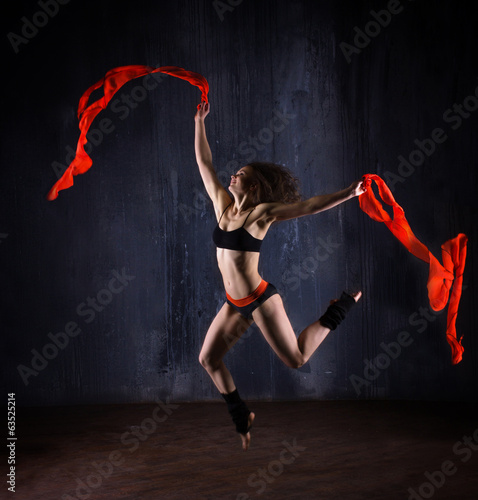 girl dancer
