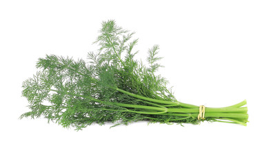 fresh bunch of dill.