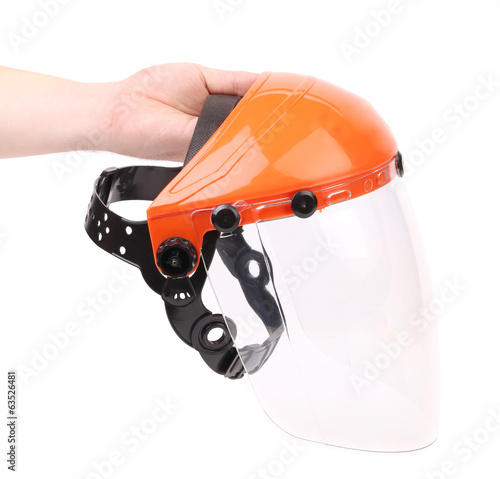 Protection helmet.