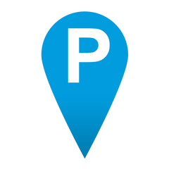 Icono localizacion simbolo parking
