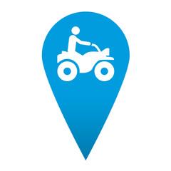 Icono localizacion simbolo quad