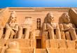 Leinwandbild Motiv abu simbel egypt