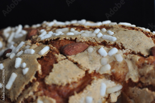 Colomba traditional Italian Easter dessert.
