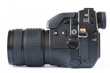 DSLR camera - side view