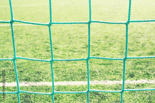 background of soccer goalnet