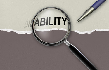 changing the word disability  for ability