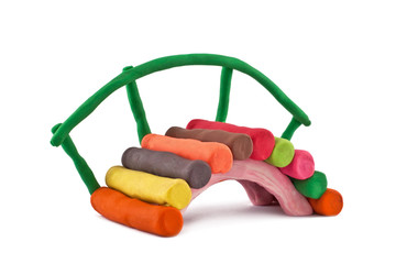 plasticine bridge