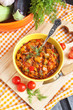 Постер, плакат: Vegetable stew Ratatouille