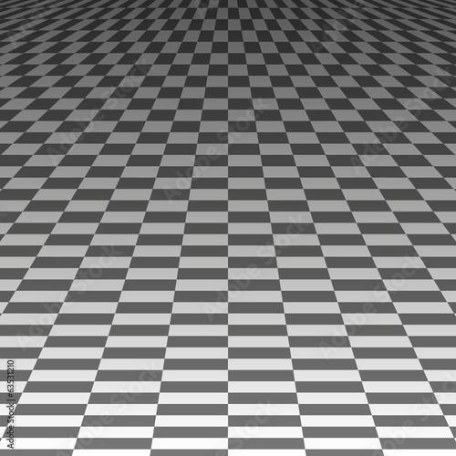 квадраты в перспективе на сером фоне