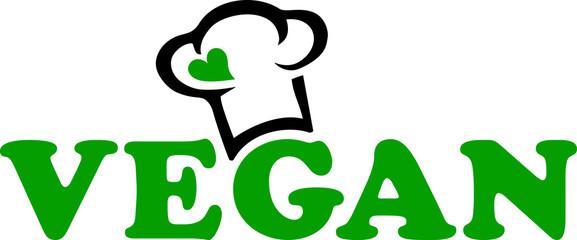Vegan Koch Mütze