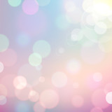 Fototapety Colorful Bokeh Background