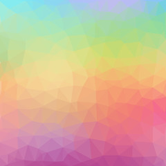 Geometric abstract low poly background