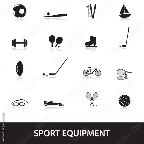 sport equipment eps10