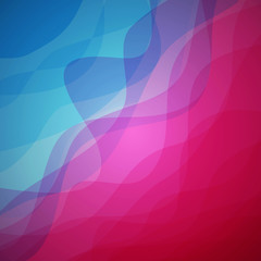 Abstract vector wave background design.