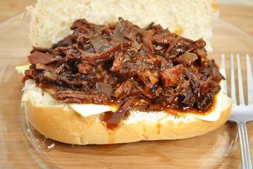 Juicy Pulled Pork Sandwich