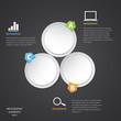 Circle modern Infographic