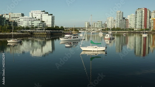False Creek Anchorage Water Taxi, Vancouver