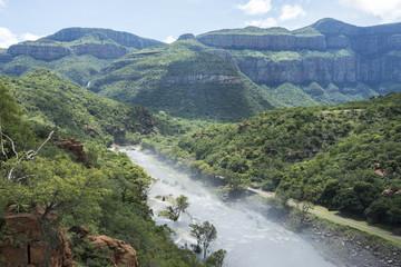 the swadini dam near the blyde river