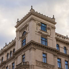Vienna, Austria. Typical architectural details