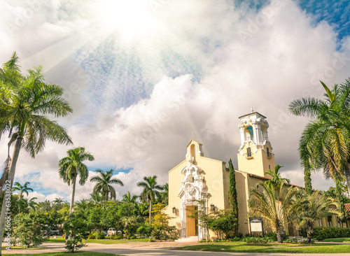 Congregational Church of Coral Gables in Miami - Florida USA