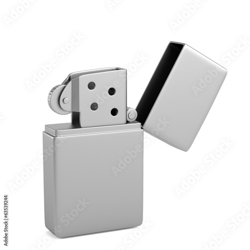 realistic 3d render of lighter