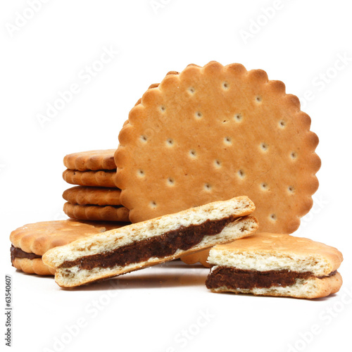 Biscuits au chocolat - chocolate biscuit