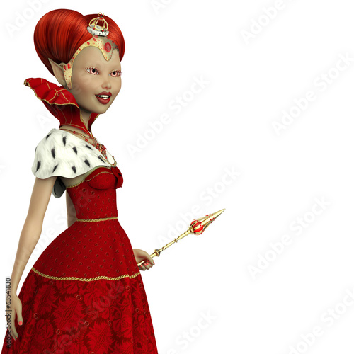 red queen elf cluse up