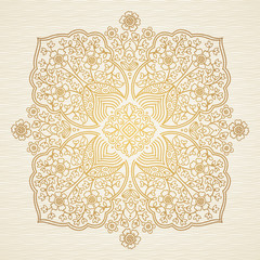 Ornate decorative illustration. Pattern in east style.