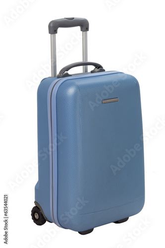 Suitcase isolated