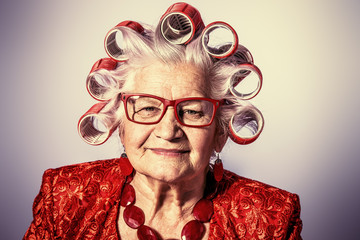 fashionable granny