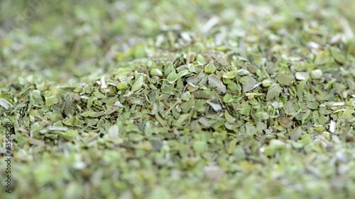 Dried Oregano (loopable full HD close-up video)