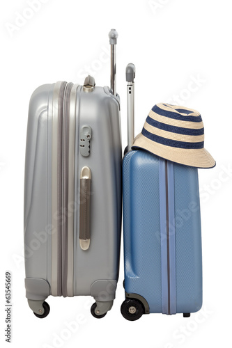 Traveling bags with hat
